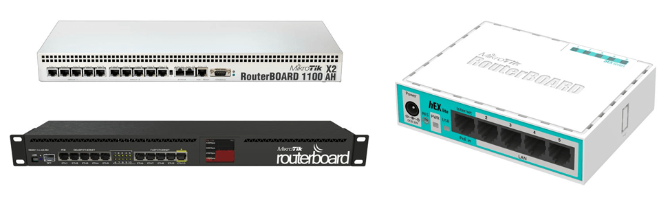 MikroTik Ethernet routers